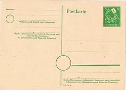 28265. Entero Postal THURINGEN (Zona Sovietica) 6 Pf - Zona Soviética