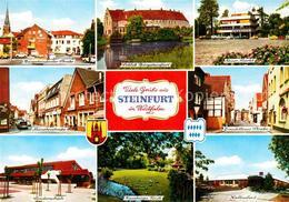 72741013 Steinfurt Westfalen Strassenpartien Schloss Burgsteinfurt Markt Schule - Duitsland
