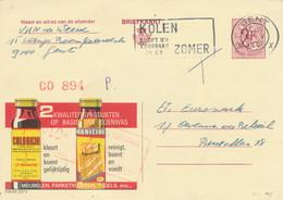 XX923 -- Entier Publibel 2227V GENT 1970 -  Cire D' Abeilles Vernicire Paris - Stamped Stationery