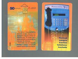 LITUANIA (LITHUANIA) -  1997 FIRST CHIP CARD 50   - USED - RIF. 10689 - Lituania