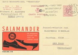 XX924 -- Entier Publibel 2136 GENT 1968 -  Salamander Chaussures - Shoes - Schoenen - Stamped Stationery