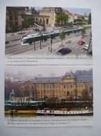 RATP : TRAMWAY  PARIS  - LOT 2 CPM Editions Atlas - Détails Voir Scans - Tramways