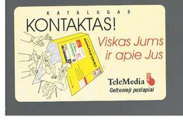 LITUANIA (LITHUANIA) -  1999  CATALOGUE KONTAKTAS - USED - RIF. 10711 - Lituania