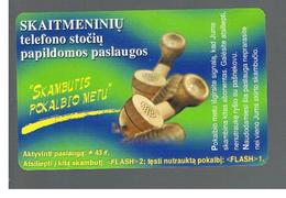LITUANIA (LITHUANIA) -  1999  USEFUL NUMBERS - USED - RIF. 10713 - Lituania