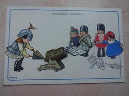 CPA Illustrateur A. BERTIGLIA Counicati Ufficiali! - Bertiglia, A.