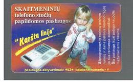 LITUANIA (LITHUANIA) -  1999  CHILDREN' S LINE - USED - RIF. 10719 - Lituania