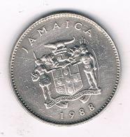 10 CENTS  1988  JAMAICA /1996G/ - Jamaica