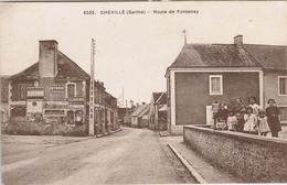 72 - Chevillé (Sarthe) - Route De Fontenay - Sonstige Gemeinden