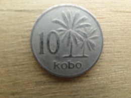 Nigeria  10  Kobo  1973  Km 10 - Nigeria