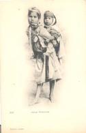 Algerie, Jeunes Mendiantes - Kinderen