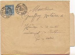 Lot Marcophilie Pas De Calais Beuvry Auchel Henin Lietard Lens - Postmark Collection (Covers)
