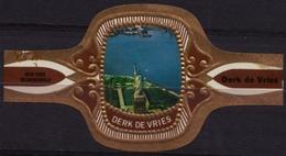 New York USA America - Statue Of Liberty - Derk De Vries - Netherlands - CIGAR CIGARS Label Vignette - Etiquettes