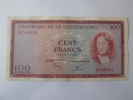 Luxembourg 100 Francs 1963 Banknote - Luxembourg