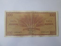 Finland 100 Markkaa/Mark 1957 Banknote - Finland
