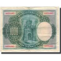 Billet, Espagne, 1000 Pesetas, 1925-07-01, KM:70a, TTB - 1000 Pesetas