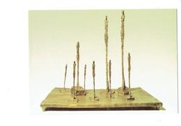 Cpm - Alberto Giacometti - Die Waldlichtung - Le Défrichement Des Forêts - - Sculpturen