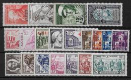 ALGERIE - ANNEE 1954 COMPLETE ** - SANS CHARNIERE - COTE = 64.5 EUR. - Algérie (1924-1962)