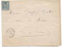 Lot Marcophilie Pas De Calais Beuvry Bruay Avesnes Le Comte Lens - Postmark Collection (Covers)