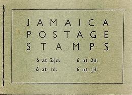 JAMAICA, 1956, Booklet 14, Elizabeth II + Palm Trees - Jamaica (1962-...)
