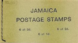 JAMAICA, 1965, Booklet 15, 3/-, Flowers / Flag - Jamaica (1962-...)