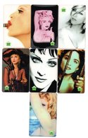 LOT 7 Télécartes Prépayées - Phonecard - MADONNA - Music
