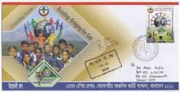 Bangladesh 2012 Asia Pacific SCOUT Conference 1v Regd FDC Scoutism Scoutisme RRR - Movimiento Scout