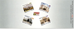 JAMAICA, 2005, Booklet 19, New Definitives: Buildings - Jamaica (1962-...)