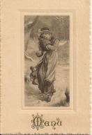 MENU 3 Octobre 1902-illustrateur Style Viennoise - 12 X 8 Cm - Menus