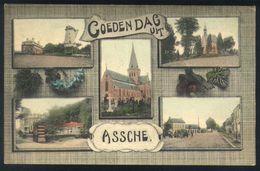 Z08 - Asse - Goedendag Uit Assche - Gebruikt 1911 - Asse