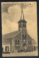 Z08 - Asse - Assche Terheyde - Kerk Van Den H. Hubertus - Gebruikt 1911 - Gat Van Punaise Rechts Boven - Asse
