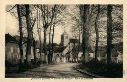 JOUGNE  Entrée Du Village  Route De Lausanne - Other Municipalities