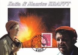 68 SOULTZ / HOMMAGE A KATIA ET MAURICE KRAFFT / 9 ET 10 JUIN 2001 - VULCANOLOGUES - Soultz