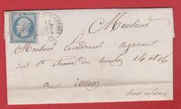 Lettre / Pour Rouen / 12 Octobre 1854 - Storia Postale