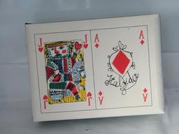 MONDOSORPRESA, RARO COFANETTO DI CARTE DA GIOCO DEL NEGRO 1961, TIRATURA 2500 EX, GRAFICA EMANUELE LUZZATI - 54 Cards
