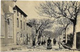 E10 VAR 83 LE PLAN DE LA TOUR Boulevard De La Liberté 1915 - France