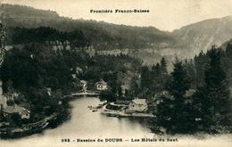 SAUT DU DOUBS ; 6 Cartes Frontière Franco-Suisse - Les Hôtels - La Grotte-La Casquette - Other Municipalities
