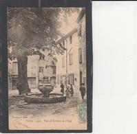 84  PERTUIS -  Place Et Fontaine De L'Ange - Pertuis