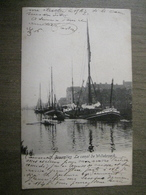 Carte Postale Ancienne Bruxelles - Le Canal De Willebroeck Willebroek - Maritime