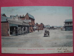 Roodepoort.  Main Street From The Station.    South Africa . - Afrique Du Sud