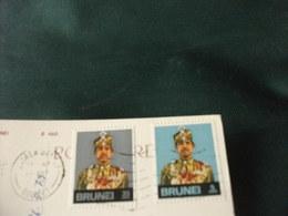 STORIA POSTALE  FRANCOBOLLO BRUNEI GOVERNMENT OFFICES BRUNEI VISTA AREA - Brunei