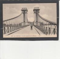 84  PERTUIS -  Le Pont Suspendu Sur La Durance - Pertuis