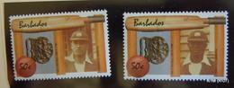 BARBADOS Year 1988. RARE, Error Showing Wrong Cricketer. MNH** SG 856 - Barbados (1966-...)