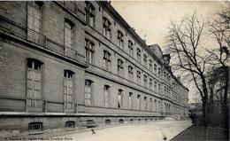 """PARIS 16è - Ecole Normale D'Instituteurs - Cachet HÔPITAL AUXILIAIRE """"108"""", 10 Rue Molitor - WWW1 - (2 Scans) - Arrondissement: 16"""