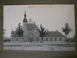 Carte Postale Ancienne - Bruxelles - La Gare De Schaerbeek - Schaerbeek - Schaarbeek