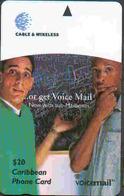 BARBADOS - TK 32532 -  333CB.. Voice Mail - Barbados
