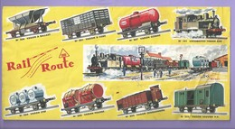 BUVARD TRAIN RAIL ROUTE - Blotters