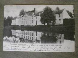 CPA - Bruxelles - Souvenir D' Aerschot ( Aarschot) Castel De L'île Du Demer (côté Nord) - Nels Série 13 No 8 - Aarschot