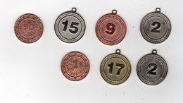 Avr18      1  Jeton  Ou Medaille Nutella  Personnage Sur Le Foot Et Deux Autres - Nutella