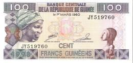 Guinea - Pick 35a - 100 Francs 1998 - Unc - Guinea