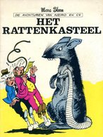 Nero - Het Rattenkasteel (1ste Druk Heruitgave)  1978 - Nero